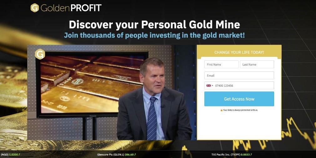 Golden Profit Review - Scam or is it legit?