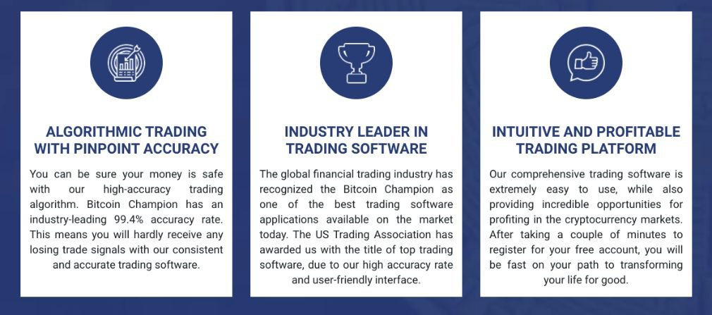 Bitcoin Champion benefits