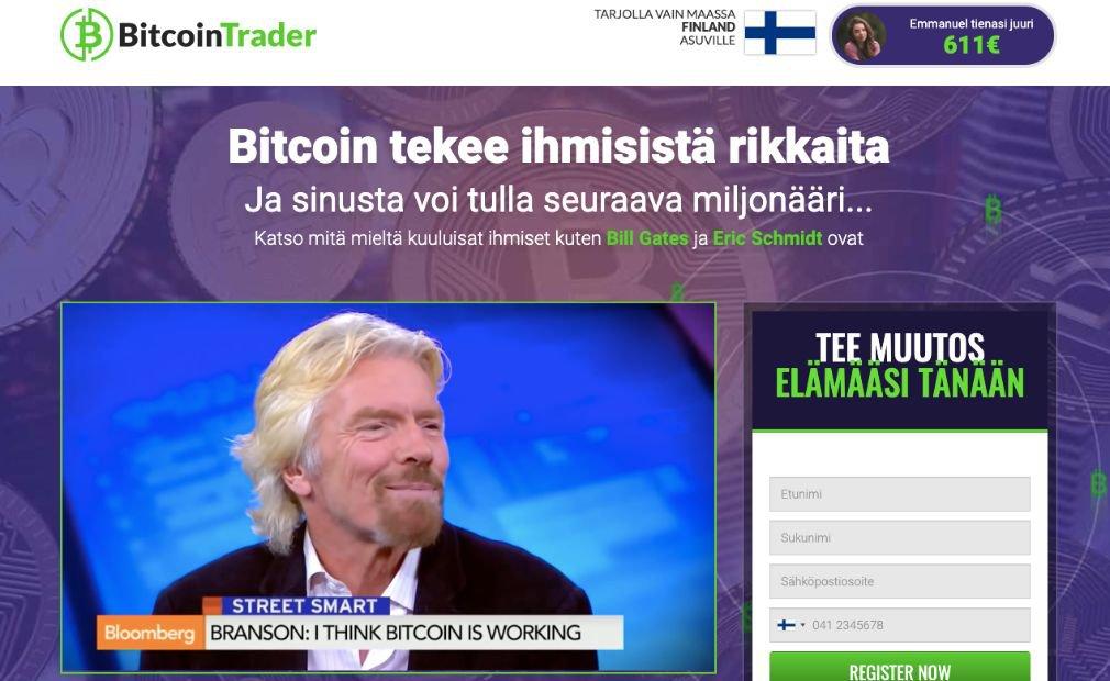 Bitcoin Trader kokemuksia