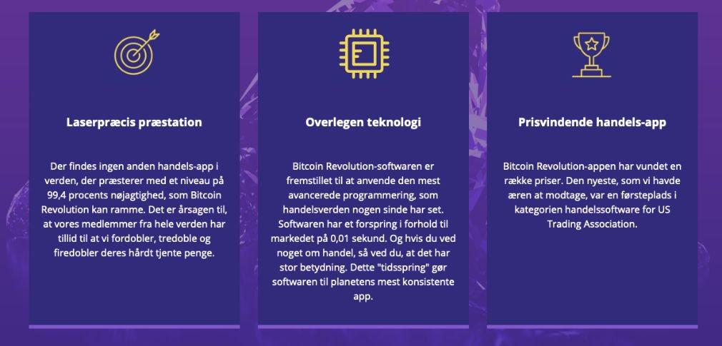 Bitcoin Revolution fordel