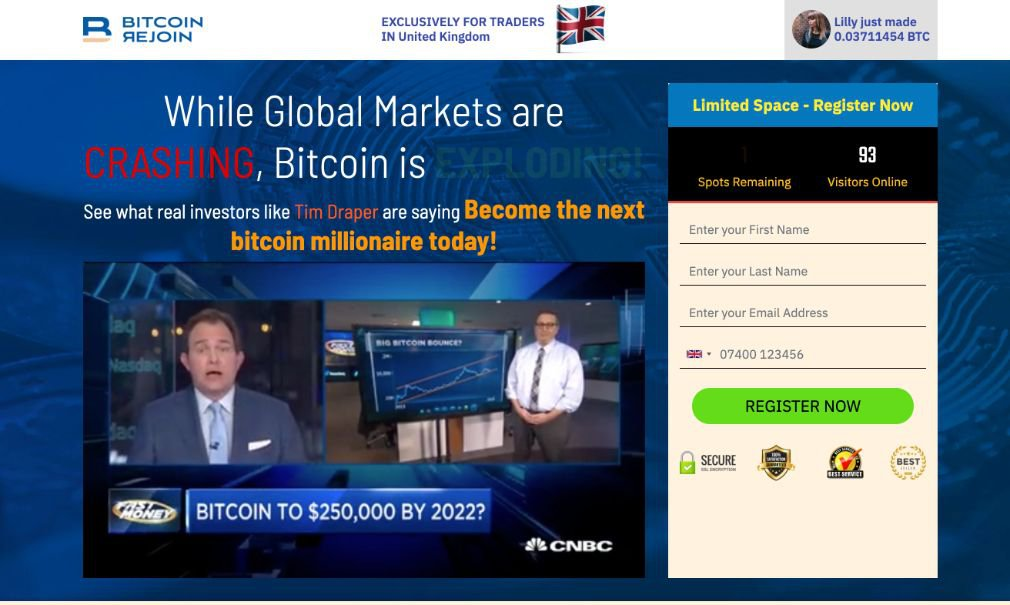 Bitcoin Rejoin Review