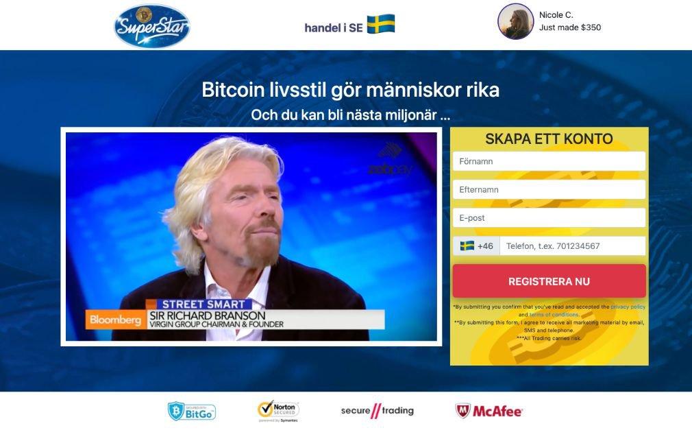 Bitcoin Superstar Recension