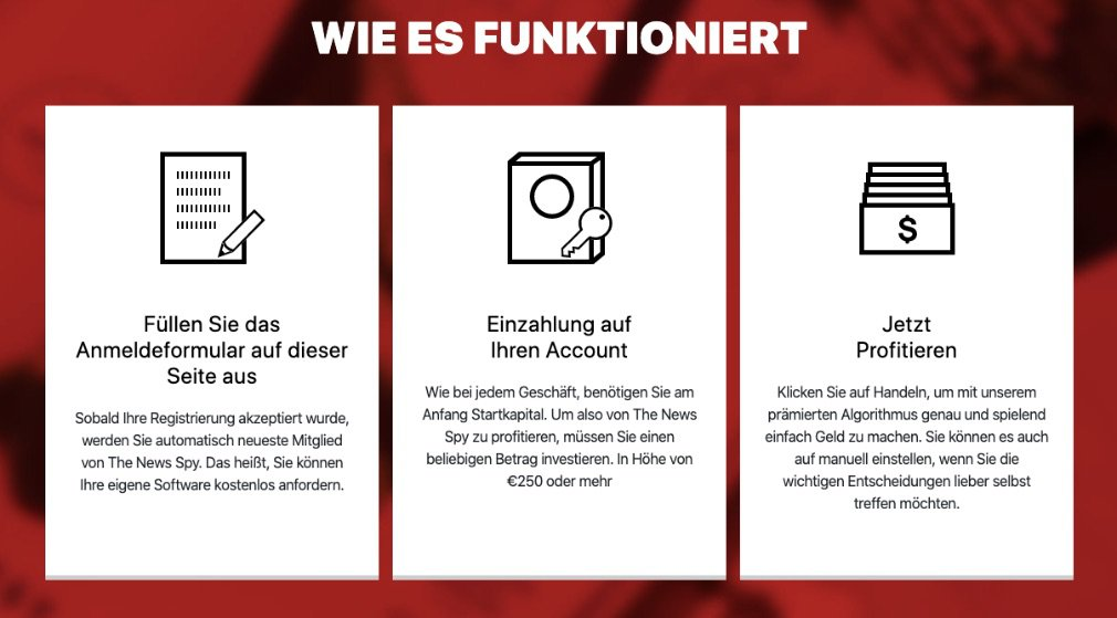 So funktioniert The News Spy