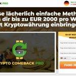 Crypto Comeback Pro Erfahrungen