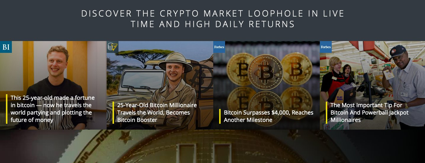 Bitcoin Loophole sucesso