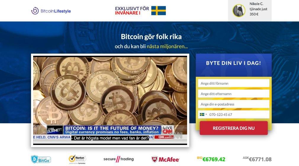 Bitcoin Lifestyle Recension