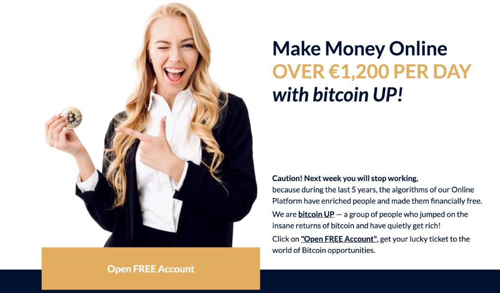 Bitcoin UP fordel