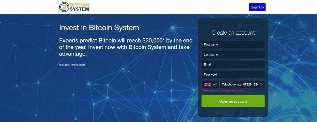 Bitcoin System Opinie