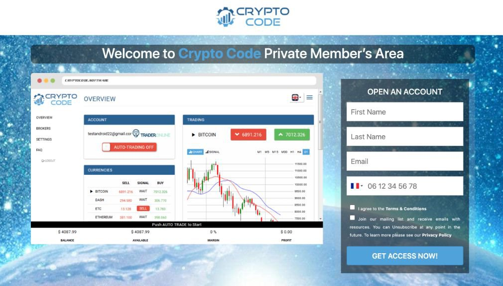 Crypto Code Avis