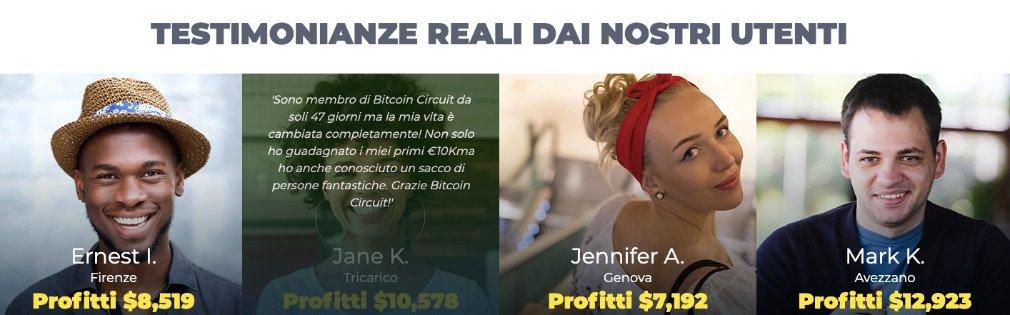Bitcoin Circuit successo