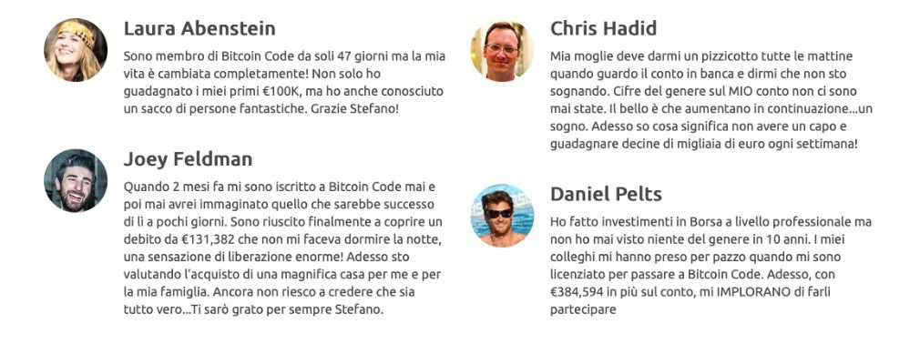Bitcoin Code successo