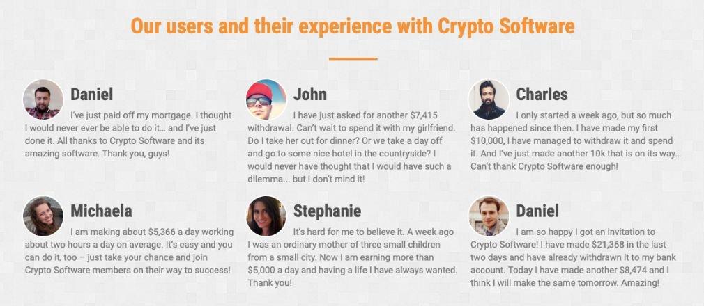 Cryptosoft success