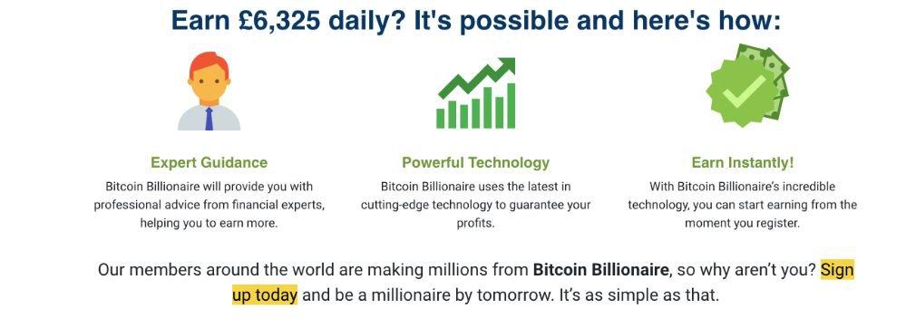 Bitcoin Billionaire success