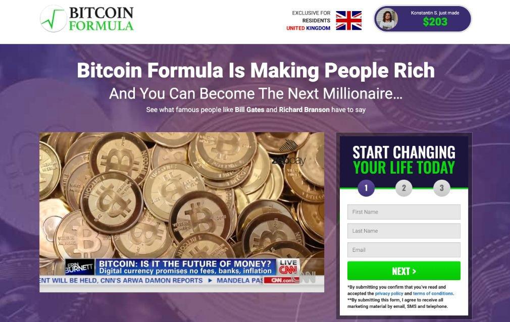 Bitcoin Formula Opiniones