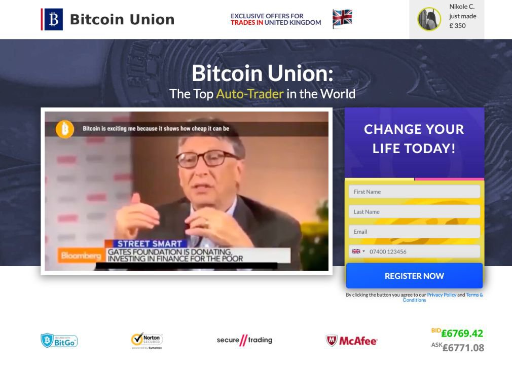 Bitcoin Union Review