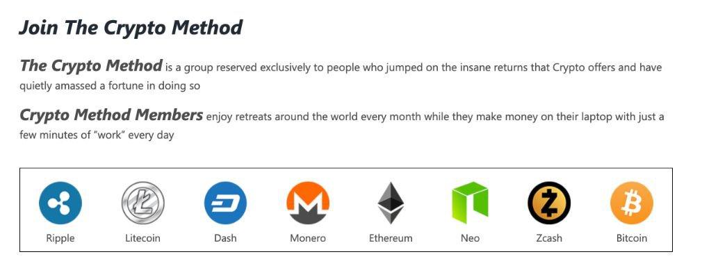 Crypto Method Review advantage