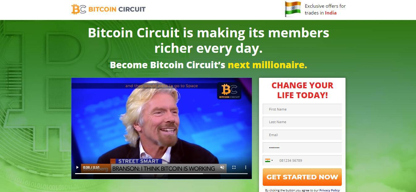 Bitcoin Circuit Platforma handlowa