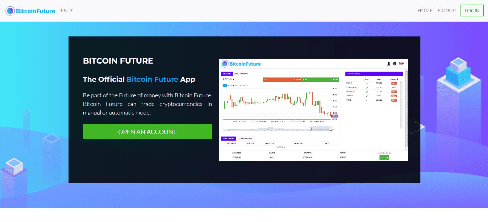 BItcoin Future Platforma handlowa
